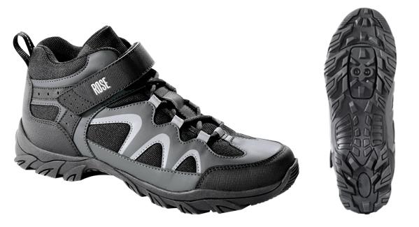 Zapatillas de ciclismo para uso con calas. Marca Rose