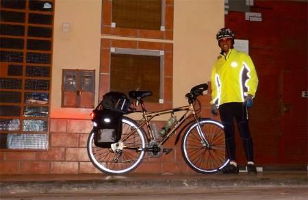 A rodar seguro durante las noches